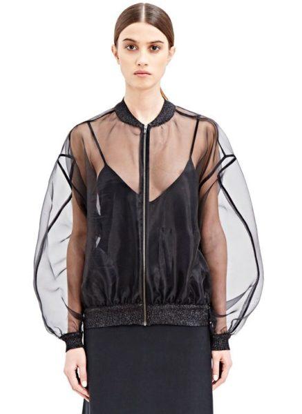 La veste bombers: comment bien la porter?