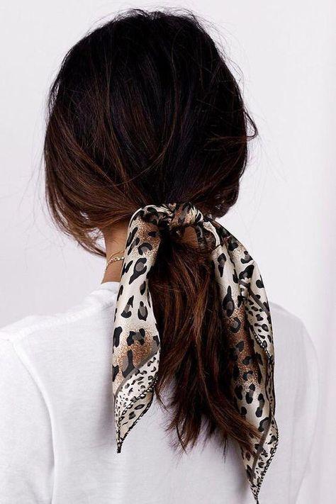 bandana léopard