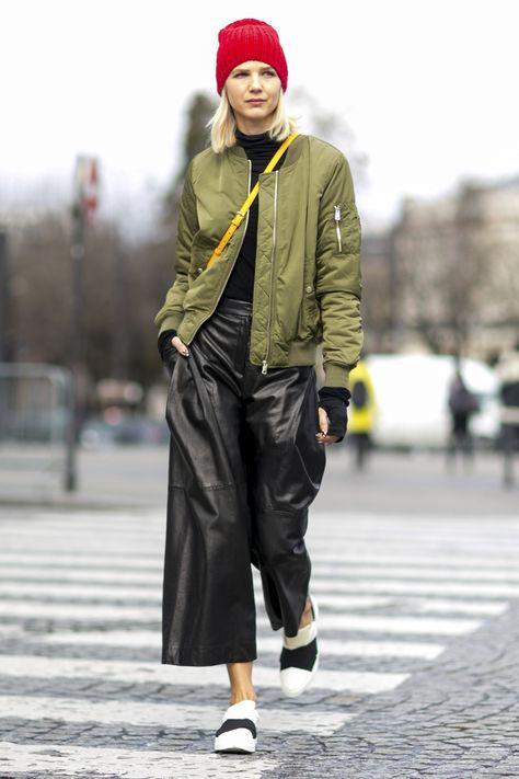 comment porter la veste bombers pour femme