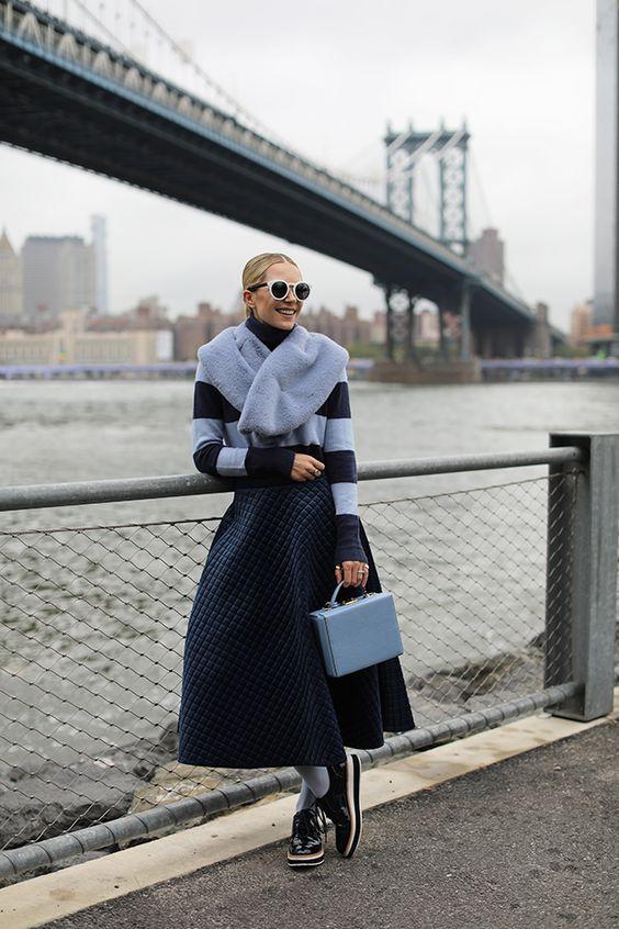 jupe matelassé style chanel tendances de mode