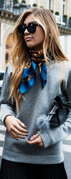 Comment nouer un foulard pour être originale et tendance?
