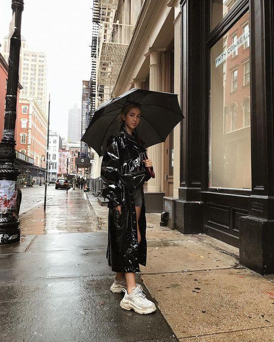 Comment s'habiller quand il pleut ?