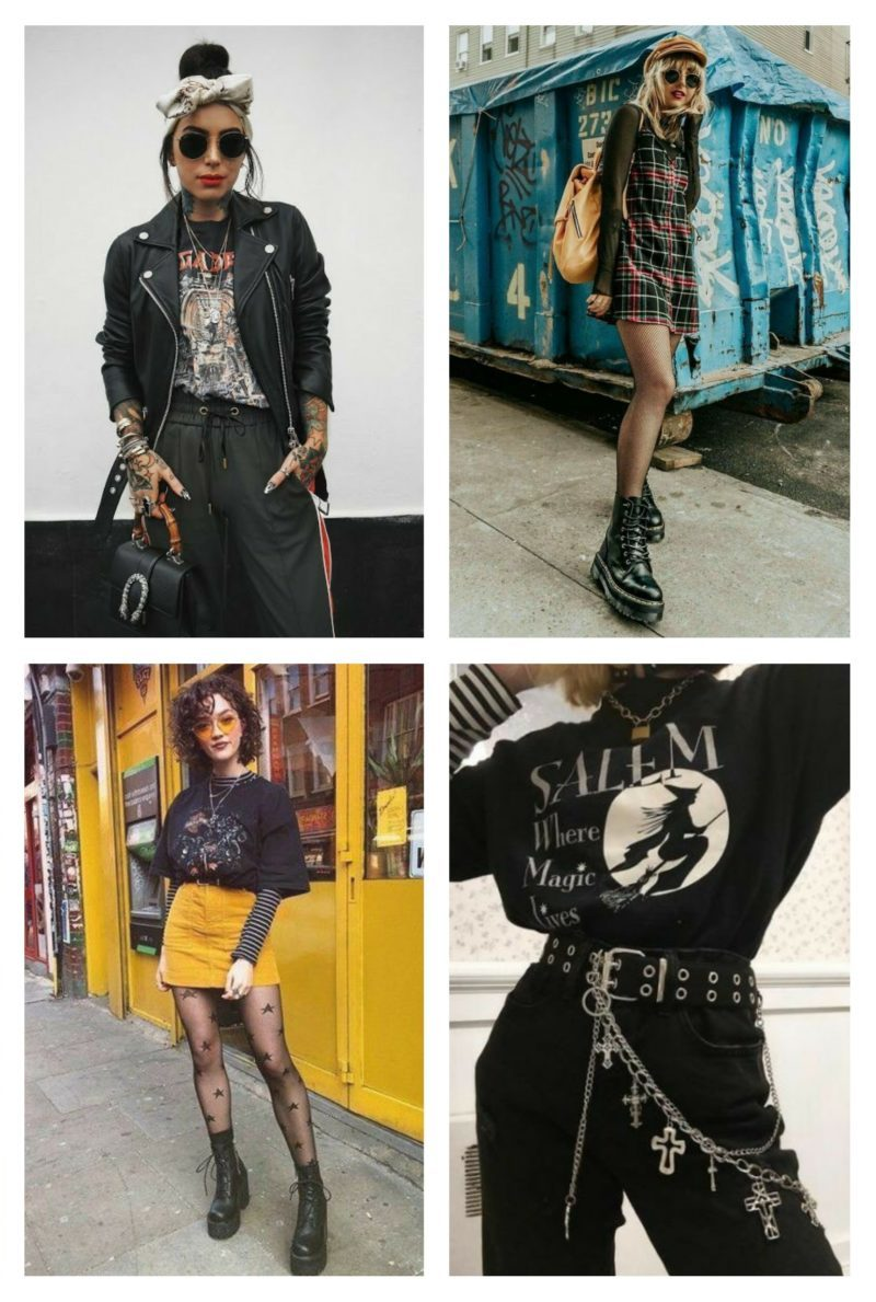 style vestimentaire femme punk