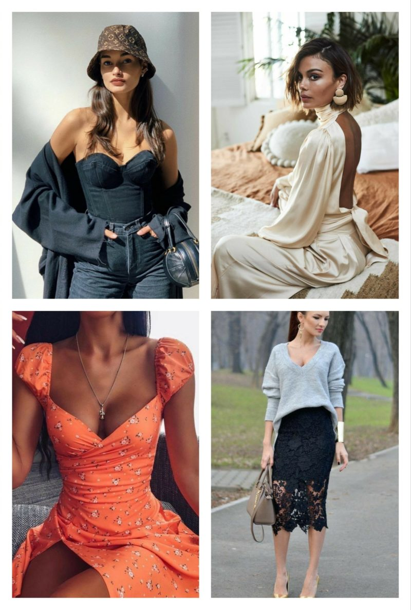 style vestimentaire femme glamour