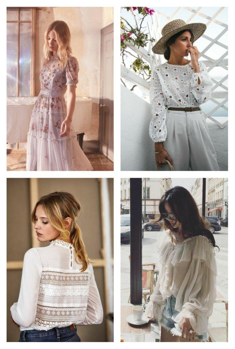 style vestimentaire femme romantique