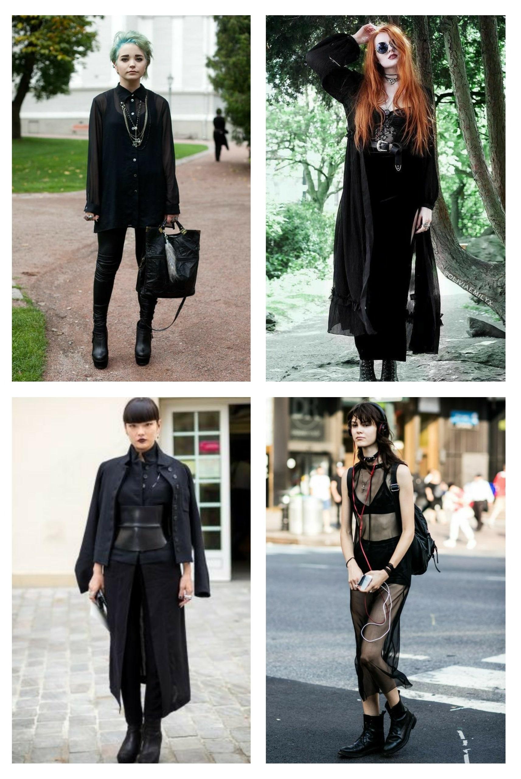 style vestimentaire femme gothique