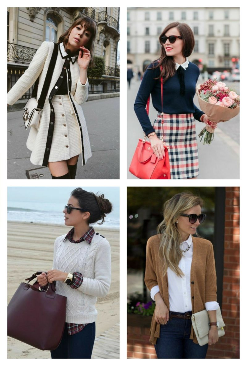style vestimentaire femme preppy