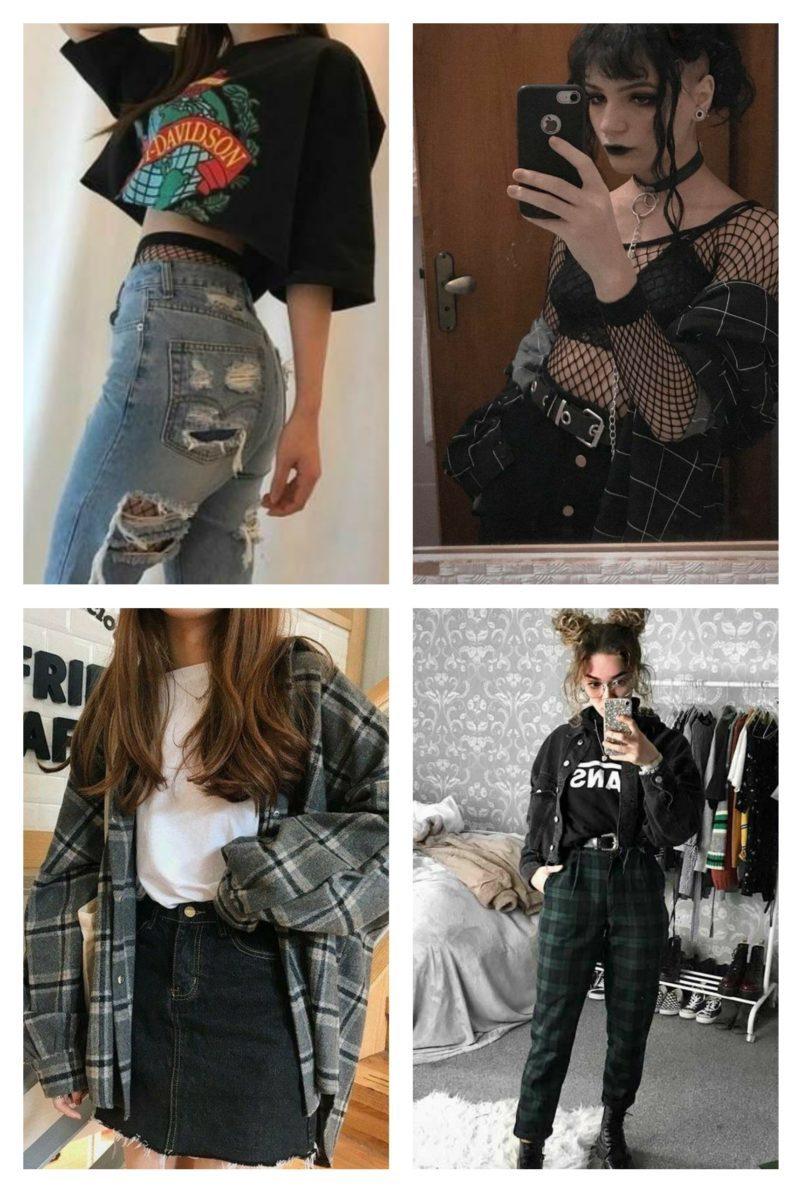 style vestimentaire femme grunge