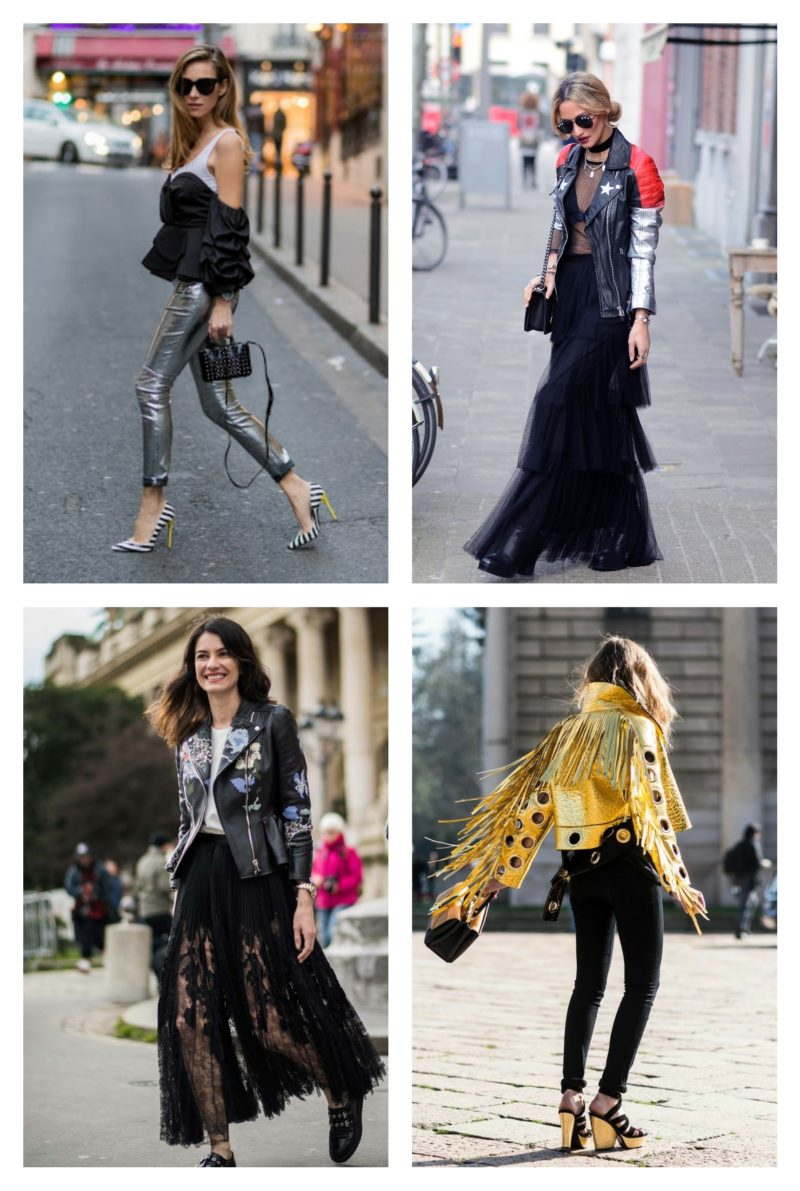 style vestimentaire femme glam rock