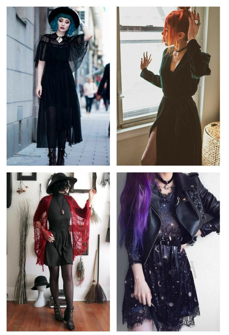style vestimentaire femme witchy