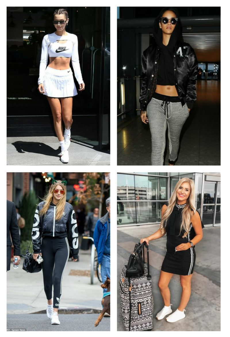 style vestimentaire femme glam sport
