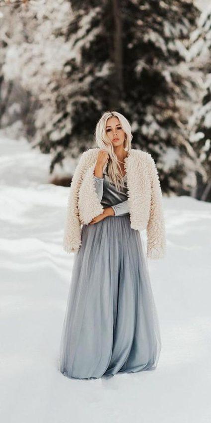 Quelle tenue de mariage en hiver ?