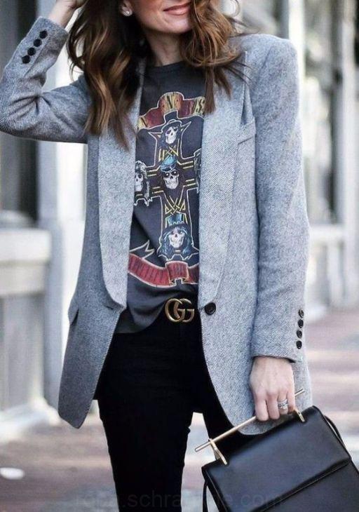 Tenue rock : comment la porter, idées de looks