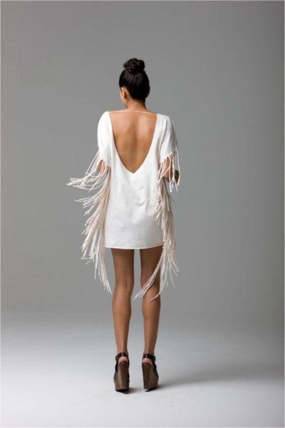comment porter le vêtement a franges