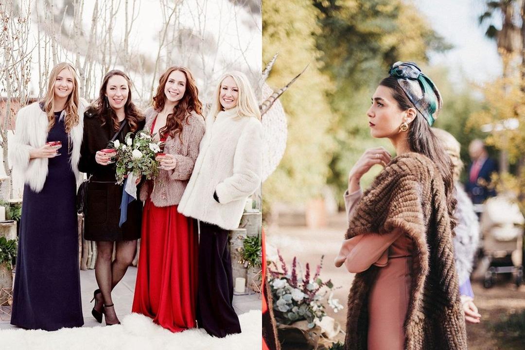 comment shabiller mariage en hiver