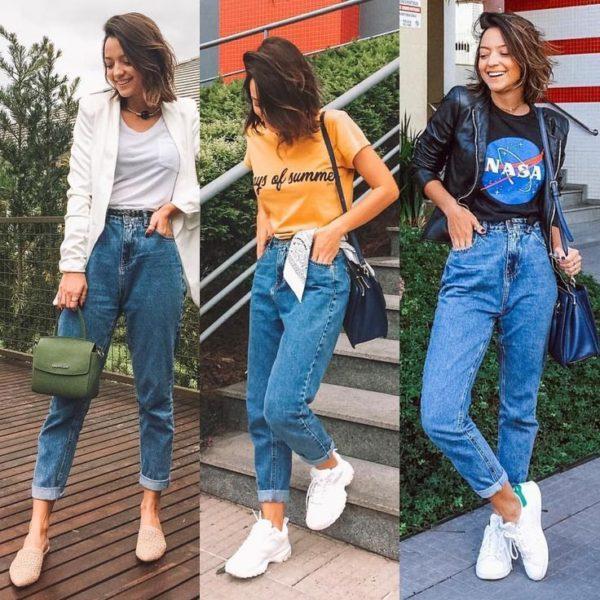 Comment porter le mom jean ? Conseils, astuces et idées de look