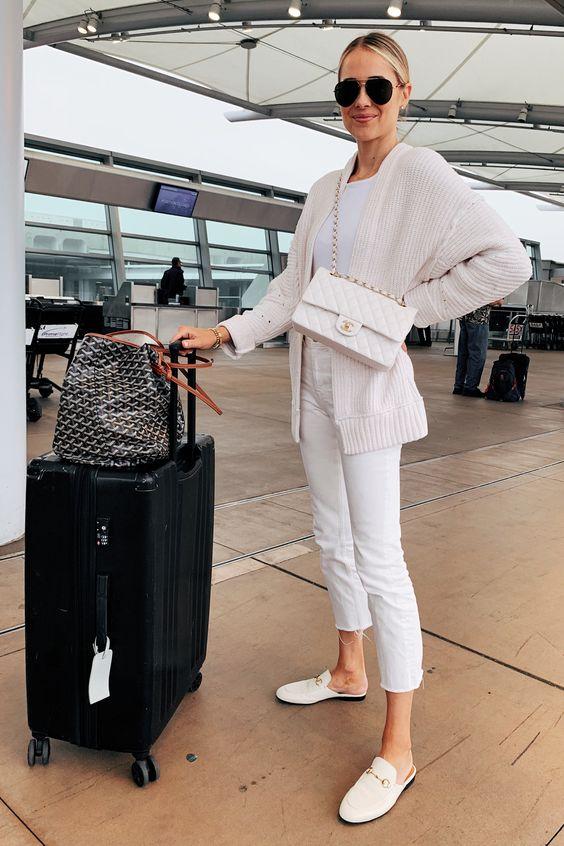 Comment porter une tenue blanche ?