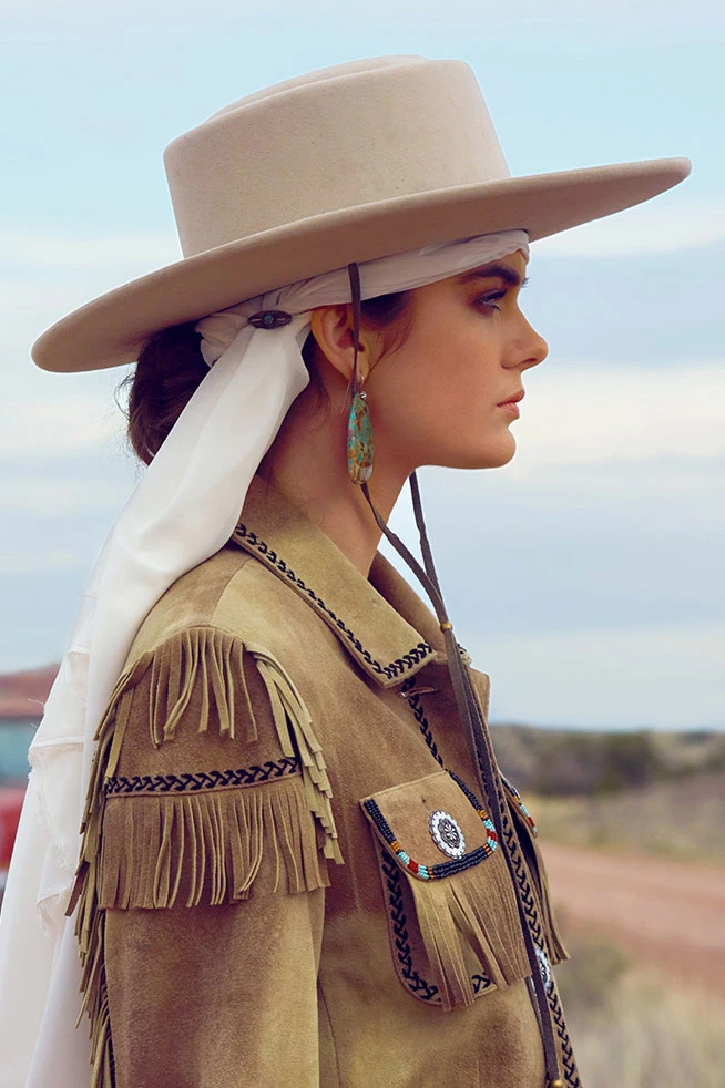 tendance western chic pour femme
