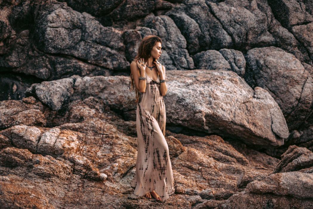 Comment bien porter une robe bohème