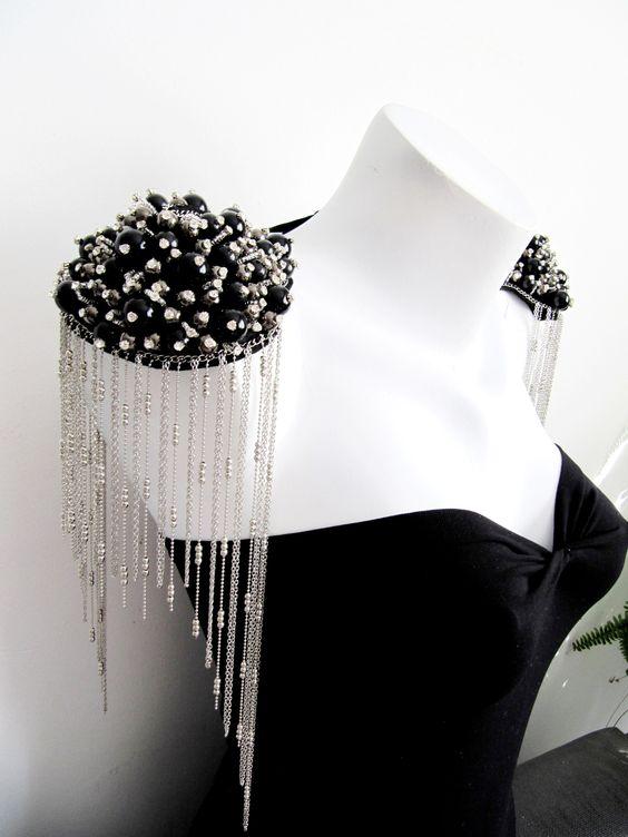 accessoire epaulette bijou amovible
