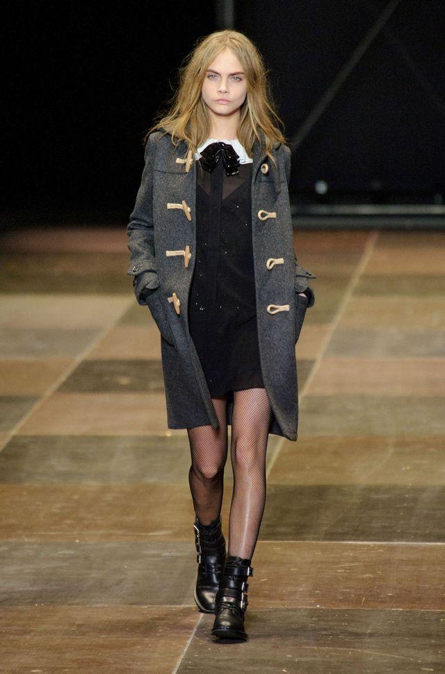 Hedi Slimane dufflecoat