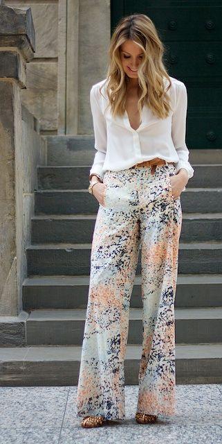 comment porter le pantalon palazzo