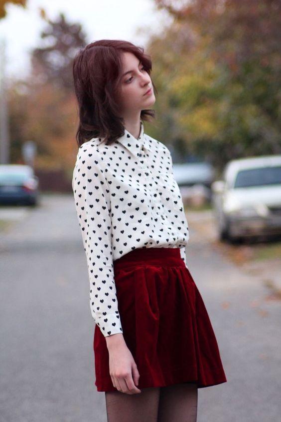 comment porter la jupe patineuse idées look