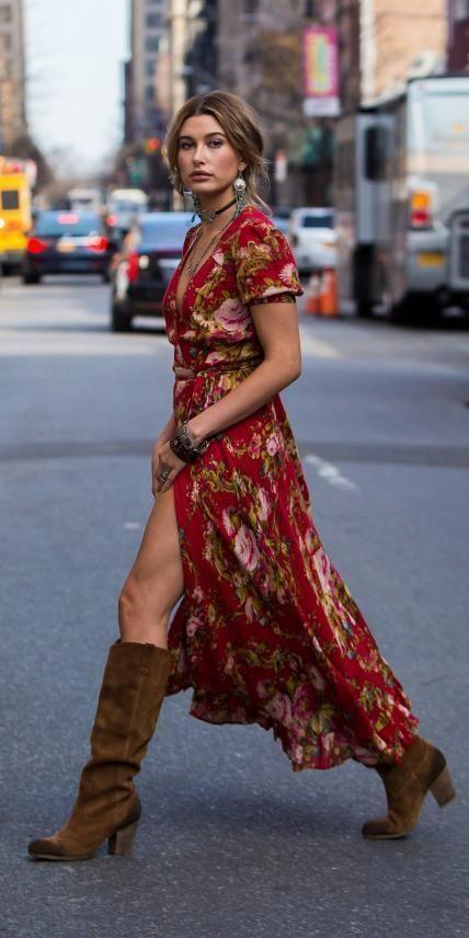 bien porter la robe bohème chic