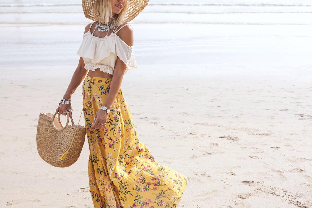jupe longue bohème