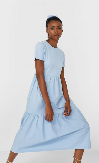 robe bi matière