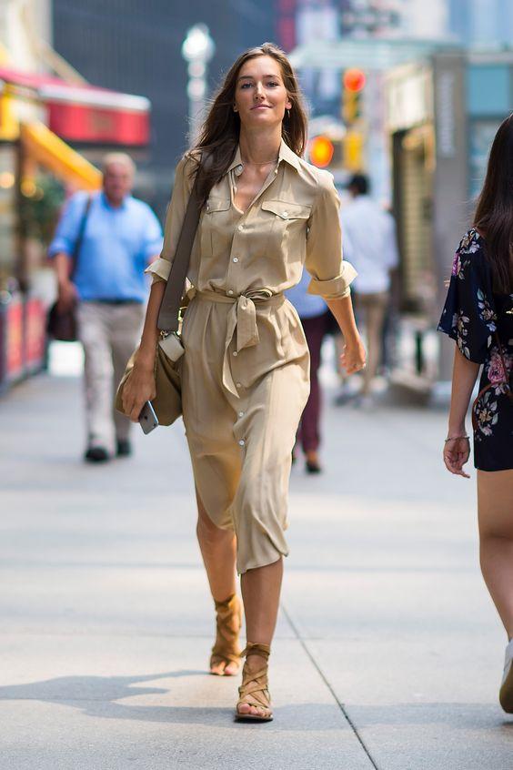 robe chemise longue femme