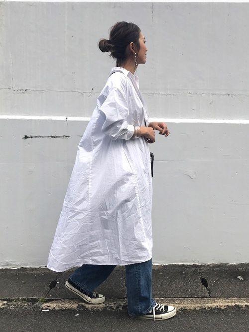 robe chemise longue