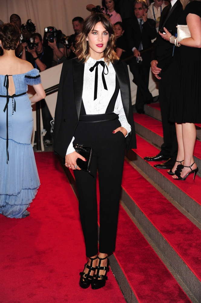 tailleur femme androgyne