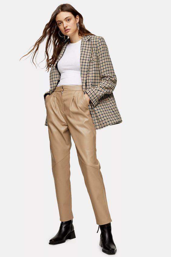 pantalon carotte pour femme