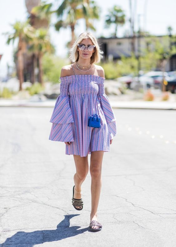 robe violette lilas