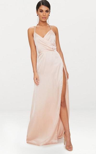 robe longue fendue sexy