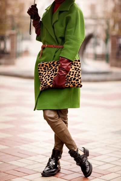 porter imprimé léopard