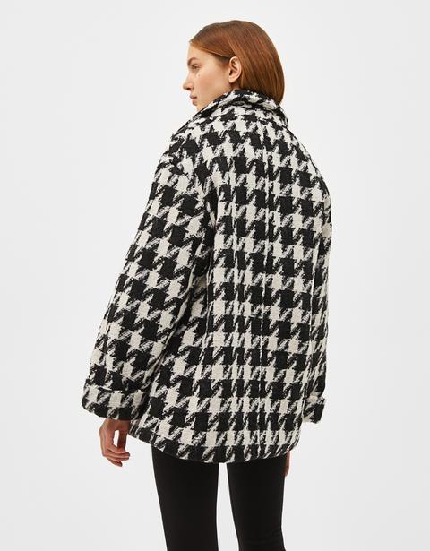 manteau pied de poule