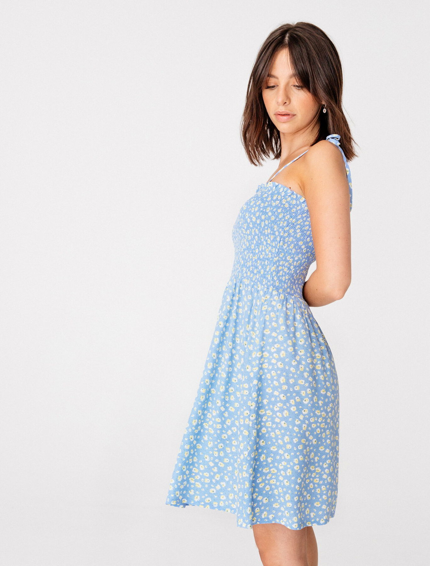 robe à smocks femmes