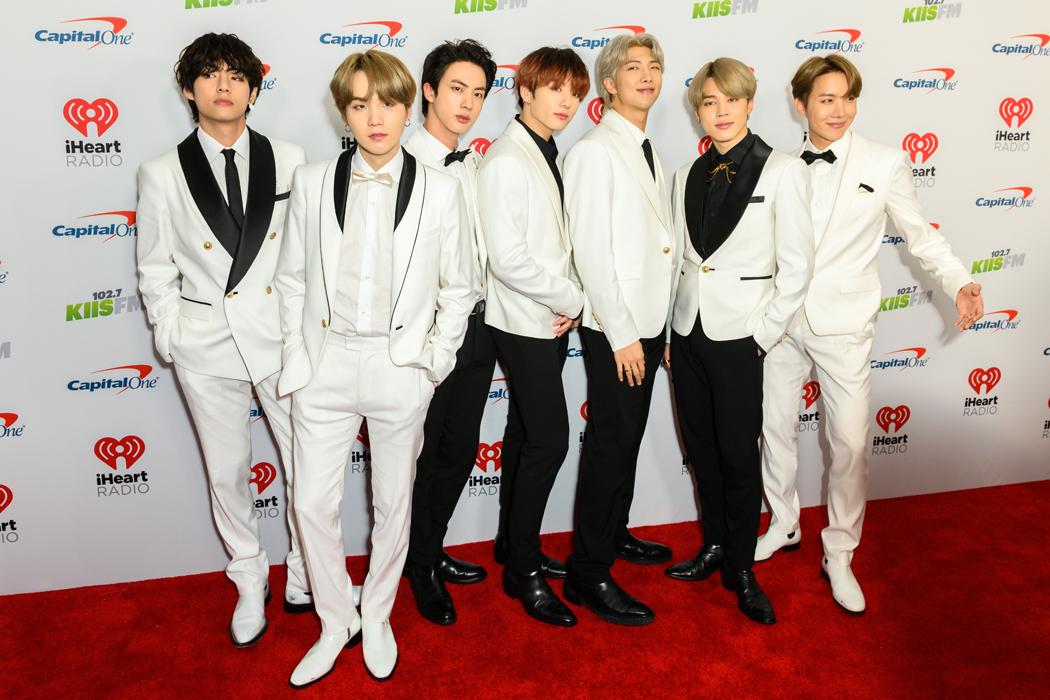BTS K pop