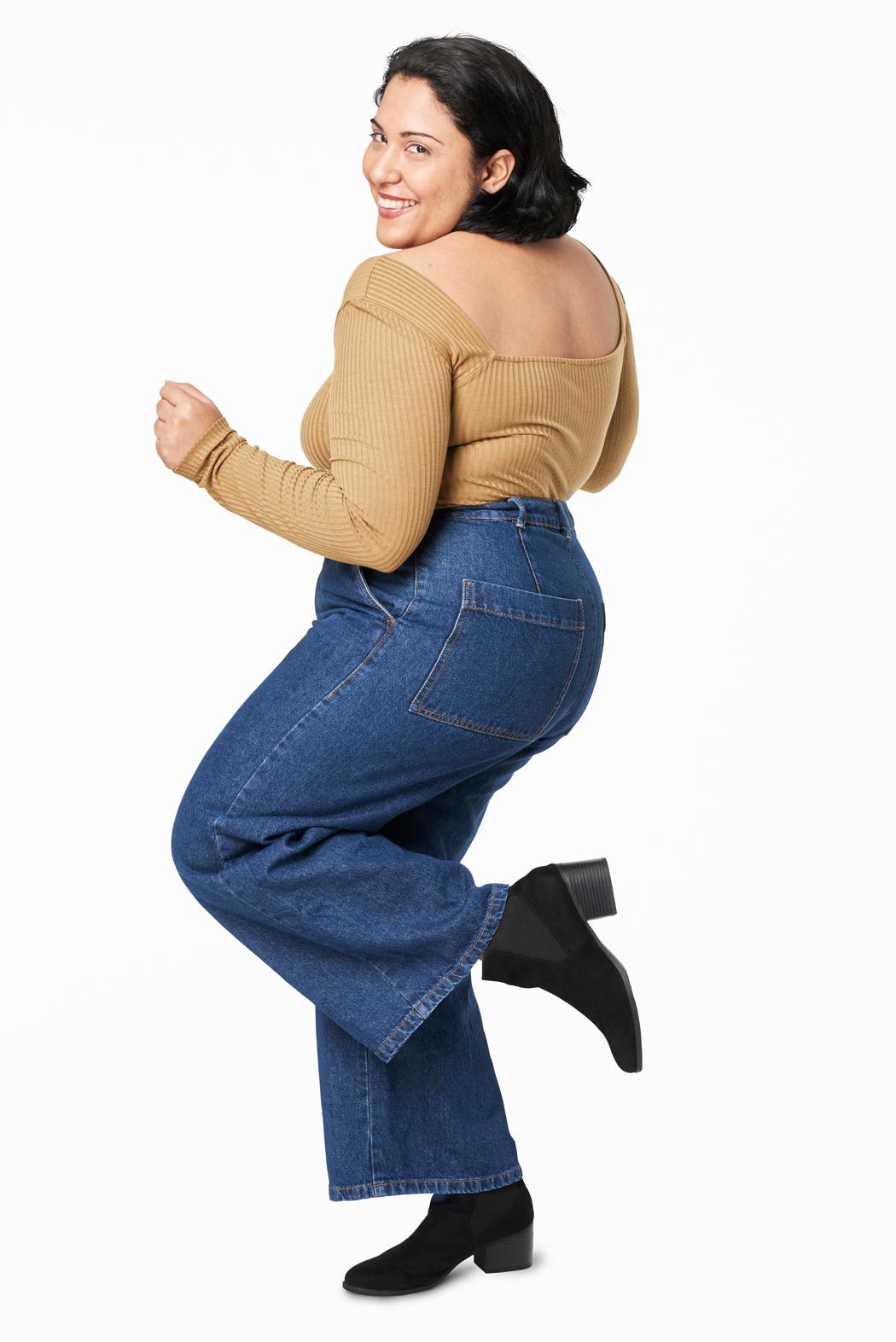 Comment choisir un jeans quand on a des fesses rondes ? Les critères pour choisir son jeans quand on a des grosses fesses